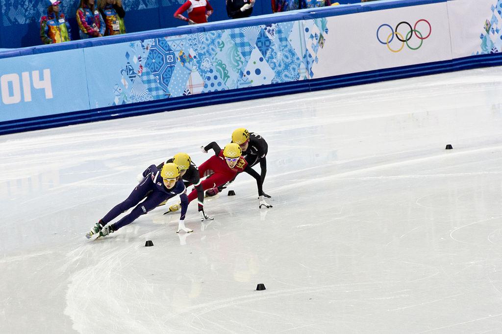Wikimedia Commons- 2014 Winter Olympics Speed Skating