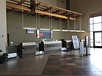 2015-05-05 10 59 58 Ticketing and check-in counter within the terminal at the Elko Regional Airport in Elko, Nevada.jpg
