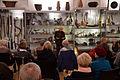 2015-11-14 Freundeskreis Hannover in Hildesheim, (575) Rolf Irle erläutert die Sammlung im Center for World Music.JPG