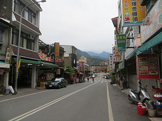 Nanzhuang - Image: 20150210南庄中正路街景