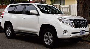 Sichuan FAW Toyota Motor - Image: 2015 Toyota Land Cruiser Prado (KDJ150R) GXL 5 door wagon (2016 07 07) 01