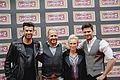 2016-02-01 Jay Khan, Willi Herren, Jana Windolph, Miloš Vuković.jpg