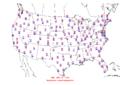 2016-04-21 Max-min Temperature Map NOAA.png