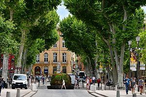 2016 Aix-en-Provence - Le cours Mirabeau