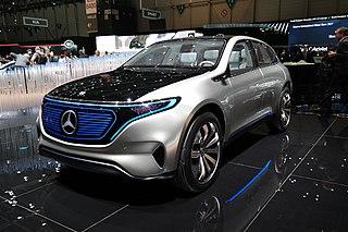 Mercedes-Benz EQ Electric model of Mercedes Benz
