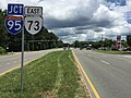 2017-07-07 13 17 21 View east along Virginia State Route 73 (Parham Road) at Aberdeen Street in Glen Allen, Henrico County, Virginia.jpg