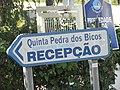 2017-12-06 Direction sign, Quinta Pedra Dos Bicos Apartments, Albufeira.JPG
