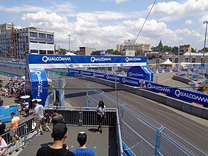 2017 New York City ePrix - The Brooklyn Street Circuit, where the race was held