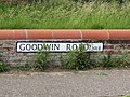 2018-06-20 Street name sign, Goodwin Road, Mundesley.JPG