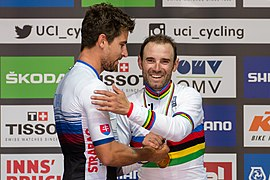 20180930 UCI Road World Championships Innsbruck Men Elite Road Race Award Ceremony 850 2125.jpg