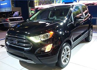 Ford EcoSport - 2018 Ford EcoSport Facelift