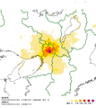 2018 Osaka earthquake Map1.png