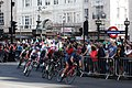 2018 Tour of Britain stage 8 - lap 1 roll out.JPG