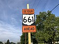 2019-08-02 08 21 27 Erroneous sign for Virginia State Route 661 using a Ohio state route shield along southbound U.S. Route 11 (Martinsburg Pike) in Stephenson, Frederick County, Virginia.jpg