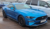 2019 Ford Mustang GT 5.0 facelift Front.jpg