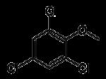Struktur von 2,4,6-Trichloranisol
