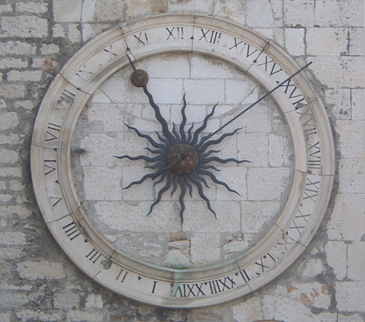 24hour clock, Split, Croatia