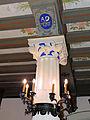 250513 Heraldic cartouche in the chapel of the castle in Baranow Sandomierski - 02.jpg