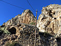 309 Ruïnes vora la roca Foradada, al poble de Foradada.JPG
