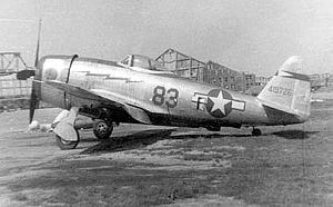 316th Fighter Squadron - 316th Fighter Squadron Republic P-47D-30-RA Thunderbolt, AAF Ser. No. 44-19726.