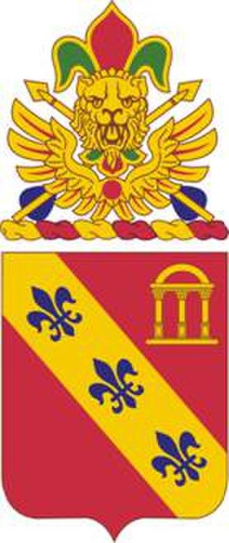 1st Battalion, 319th Field Artillery Regiment - Image: 319FARegt COA