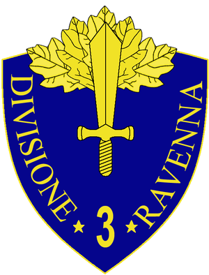 3rd Infantry Division Ravenna - 3rd Infantry Division Ravenna Insignia