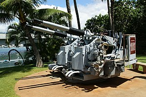 40mm Bofors Mark 2 Quad Guns at USS Bowfin Submarine Museum.jpg