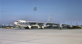 823d Air Division - B-52G Stratofortress in early 1960s SAC markings