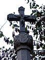553 Creu de Can Canet, reconstrucció de Ramon Dalmau, c. Creu - Migdia (Girona).jpg