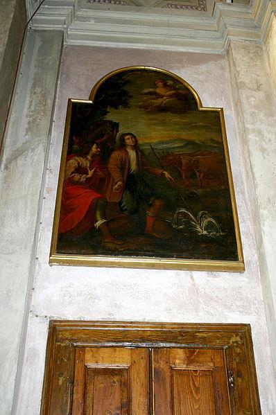 File:5561 - Milano - S. Maria al Paradiso - Anonimo del sec. XVIII - Miracolo di sant'Isidoro - Foto Giovanni Dall'Orto - 7-Feb-2008.jpg