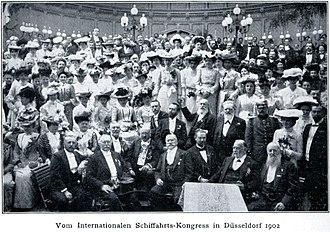 World Association for Waterborne Transport Infrastructure - PIANC Congress in Düsseldorf 1902