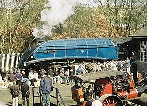 LNER Class A4 4498 Sir Nigel Gresley - Image: 60007barrowhill 1