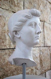 Livia Consort to Roman emperor Augustus and mother of emperor Tiberius (c. 59 BC-AD 29)