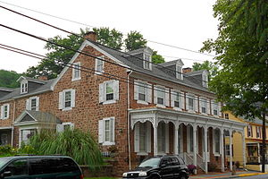 Adamstown, Pennsylvania - Kagarise Store and House