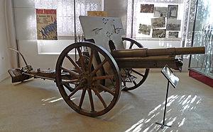 8 cm FK M 18 - At the Heeresgeschichtliches Museum