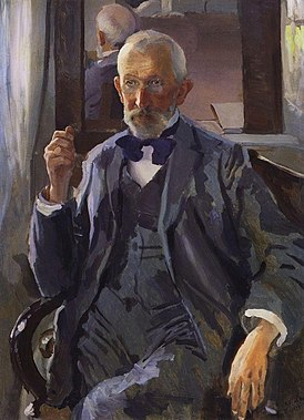 A.I. Somov, artist's father by K.Somov (1897).jpg