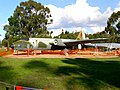 A84-235 Mk 20 English Electric Canberra being sanded back - RAAF Base Wagga.jpg