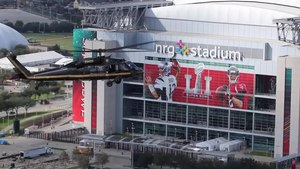 File:AMO Black Hawk conducts a flyover of NRG Stadium in advance of Super Bowl LI.webm