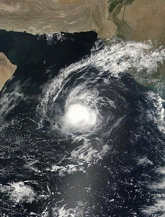 2001 North Indian Ocean cyclone season - Image: ARB 2001 09 26 Terra
