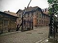 """AUSCHWITZ MAIN GATES - """"WORK MAKES FREE"""" - panoramio.jpg"""