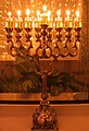 A Hanukkah menorah (Chanukiah).jpg