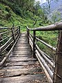 A bridge connection 2 mountains from ground.jpg