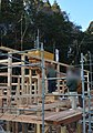 A ceremony to start building a house framework,Japan.jpg