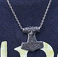 A copy of the Thor's hammer from Skåne - Nachbildung des Thorshammers von Skåne.jpg