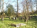 A peaceful scene in the churchyard at St Andrew's Meonstoke - geograph.org.uk - 1123476.jpg