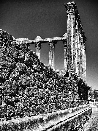 "Ebora Liberalitas Julia - Roman Temple of ""Diana"""