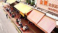 A view of yam cha on Chinese canteen in Yuen Long.jpg