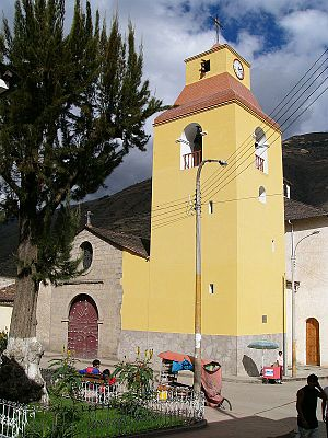 Abancay - Abancay Cathedral's Bells Tower