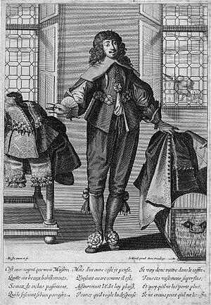 Valet - A 17th-century valet de chambre
