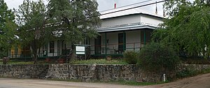 National Register of Historic Places listings in Pinal County, Arizona - Image: Acadia Ranch Museum (Oracle, AZ) from NW 1